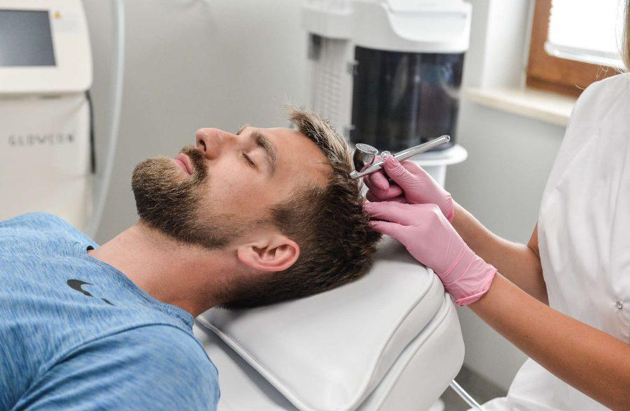SMP Hair Clinic infuzja tlenowa
