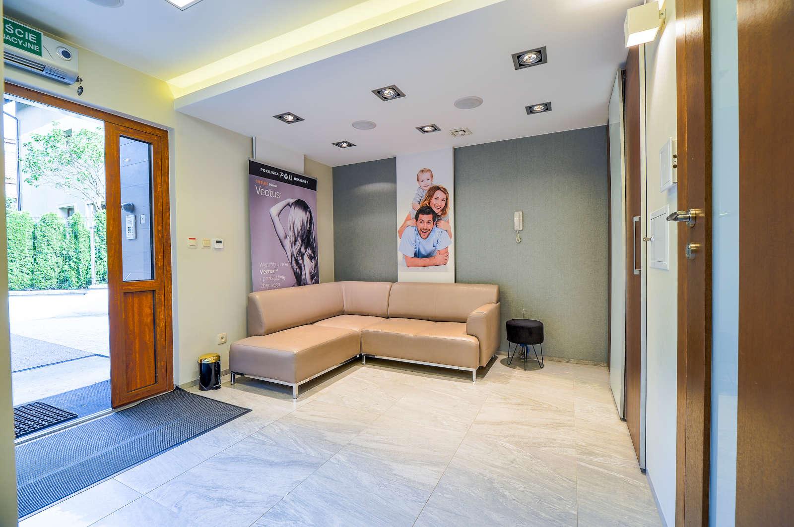 Wnętrze SMP Hair Clinic